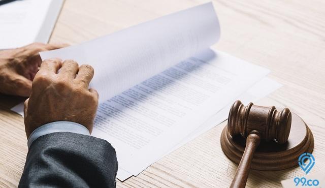 hukum perjanjian sewa rumah