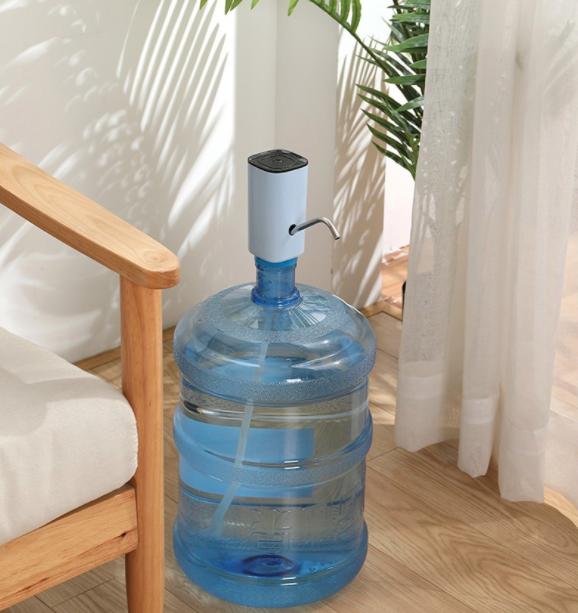 Square Electric Water Dispenser with USB / Pompa Galon Listrik Kotak