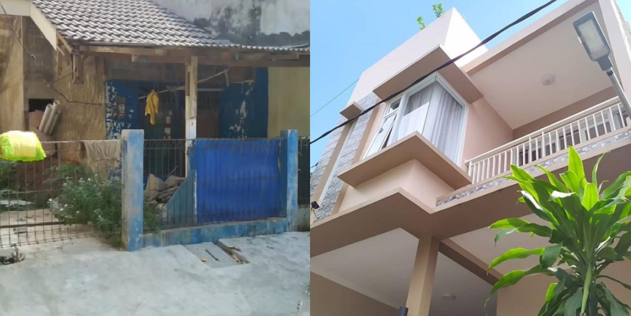 Dari Bobrok Jadi Mewah Ini Biaya Renovasi Rumah Minimalis Ukuran 60 M2 Rumah123 Com