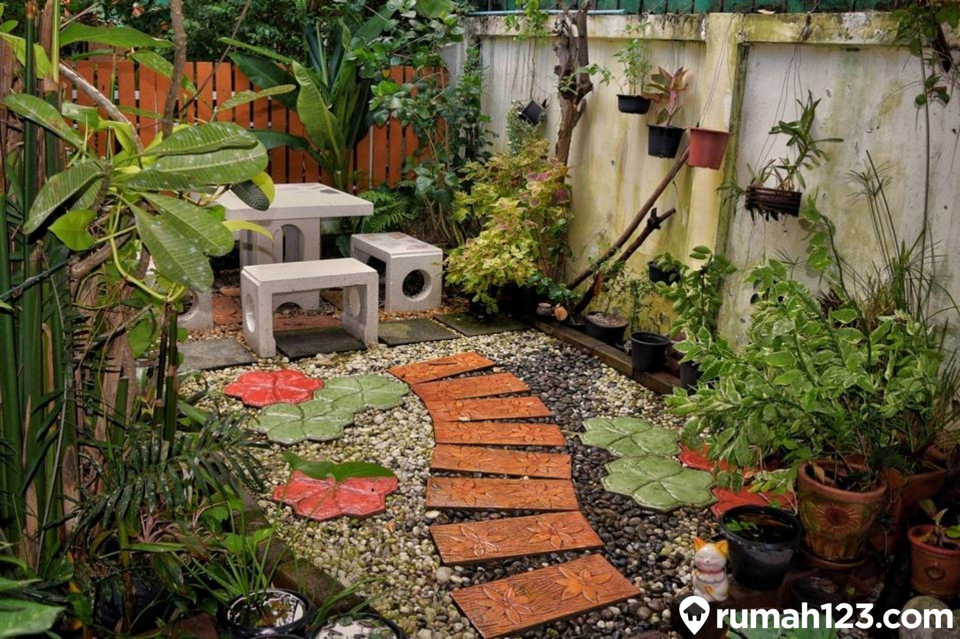 12 Contoh Desain Taman Minimalis Yang Bisa Kamu Tiru Di Lahan Sempit! |  Rumah123.com