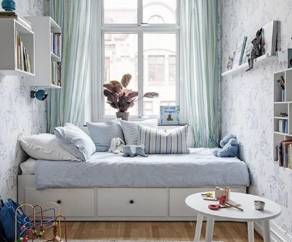 11 Inspirasi Desain Kamar 2x2 Dari Kamar Tidur Ruang Kerja Hingga Musala Rumah123 Com