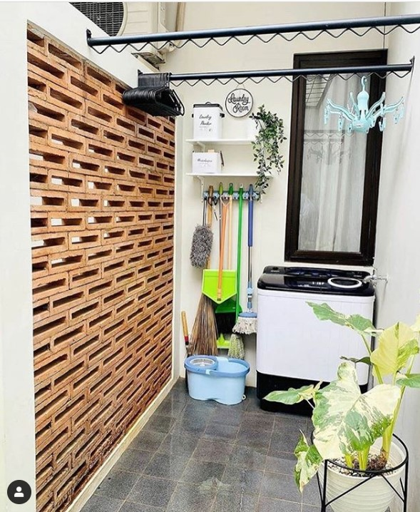 11 Laundry Room Minimalis Di Lahan Sempit Jangan Cuci Jemur Di Halaman Rumah123 Com