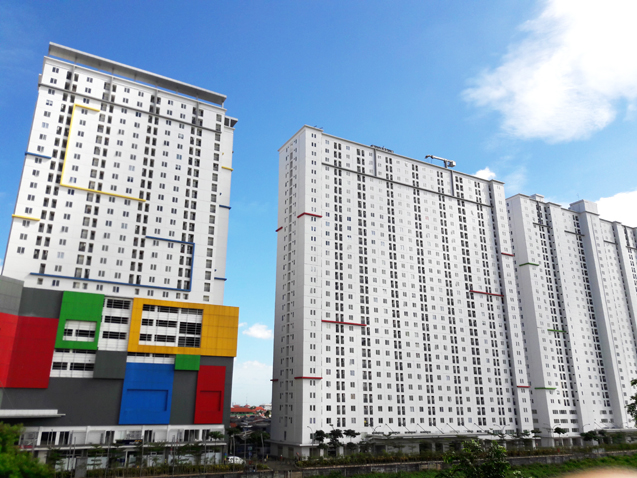 lokasi apartemen bassura city