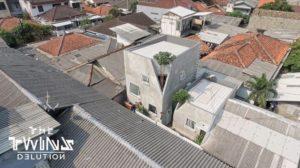 Berada di Gang, Rumah Minimalis 70 Meter Ini Terkesan Sangat Luas!