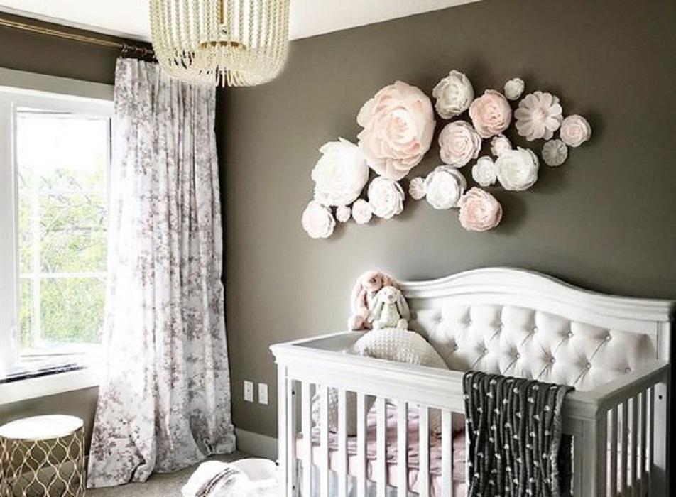 11 Inspirasi Hiasan Dinding Kamar Tidur Dari Bunga Kertas Hingga Kaligrafi Rumah123 Com