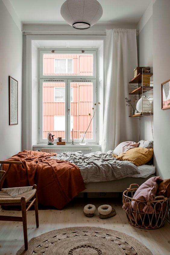 17 Desain Kamar Tidur Minimalis Walau Kecil Tetap Kelihatan Mewah Rumah123 Com