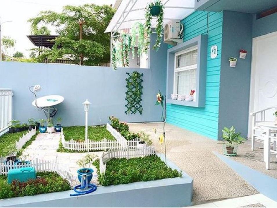 warna cat depan rumah yang bagus