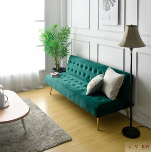 Sofa Bed Minimalis - Sofa Ruang Tamu - Livien-Vallen