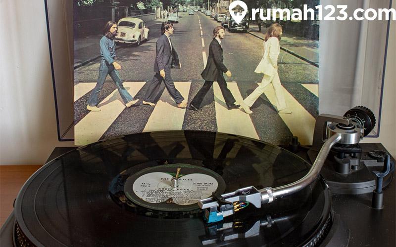 piringan hitam dan vinyl The Beatles