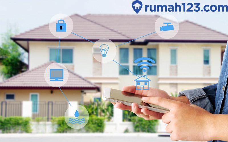 cara buat rumah biasa jadi smart home