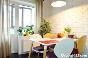 12 Inspirasi Ruang Makan Minimalis. Gak Makan Tempat di Rumah Kecil!