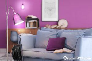 Inspirasi Interior Rumah Warna Ungu. Lagi Ngetren di Seluruh Dunia!