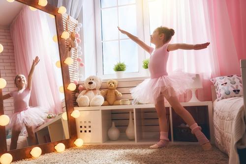 feng shui cermin di kamar anak