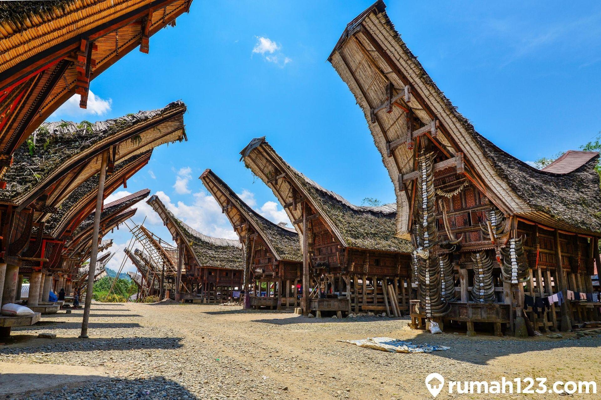 Rumah Tongkonan Dan Filosofi Etnis Toraja Yang Sangat Kuat Rumah123 Com