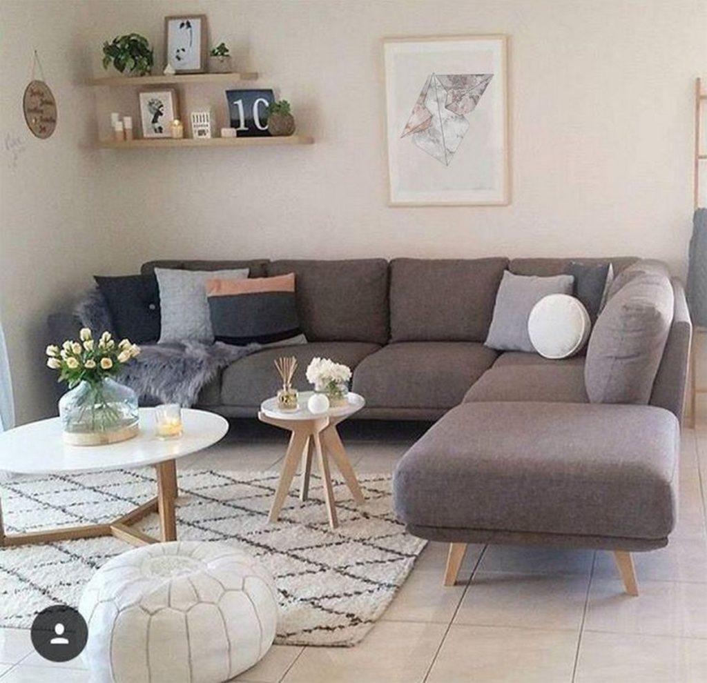 13 Contoh Desain Ruang Tamu Minimalis Yang Cocok Di Rumah Kecil Rumah123 Com