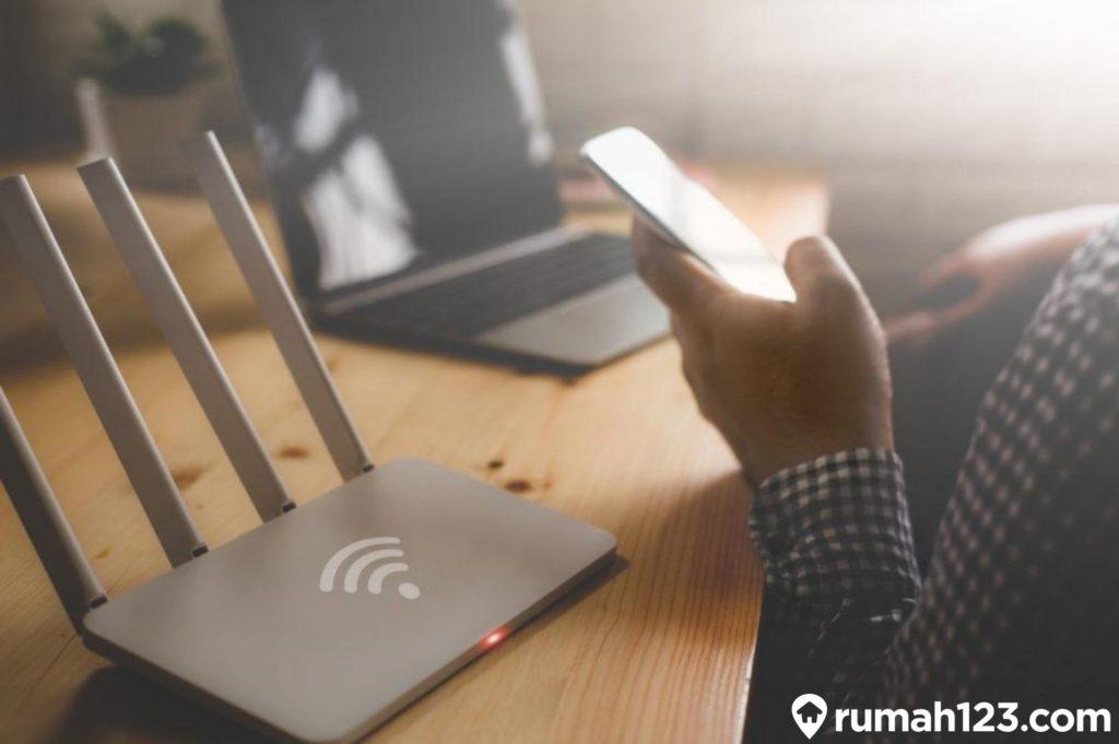 cara ganti password wifi