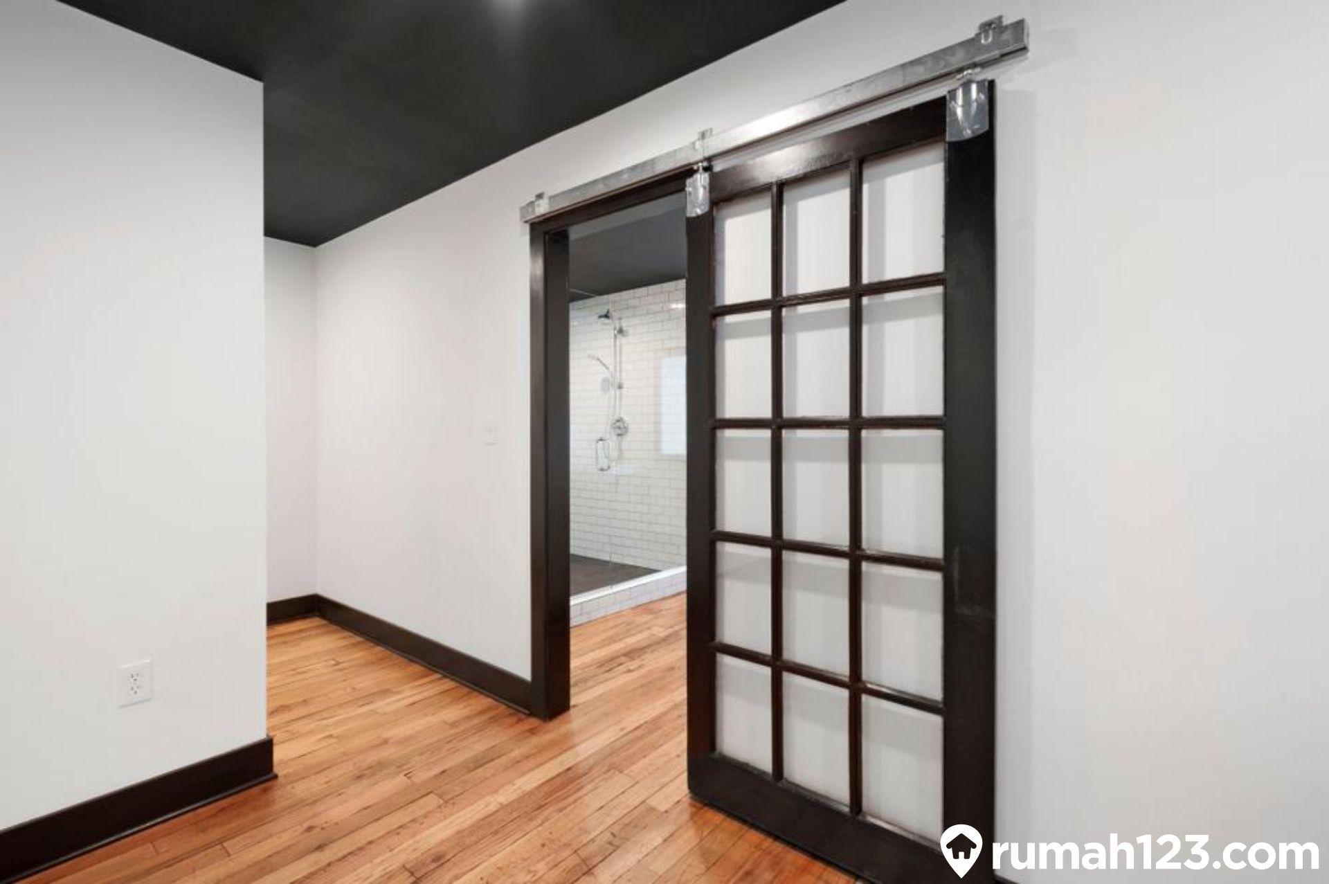 10 Pintu Geser Minimalis Yang Menambah Ruang Di Rumah Sempit Rumah123 Com