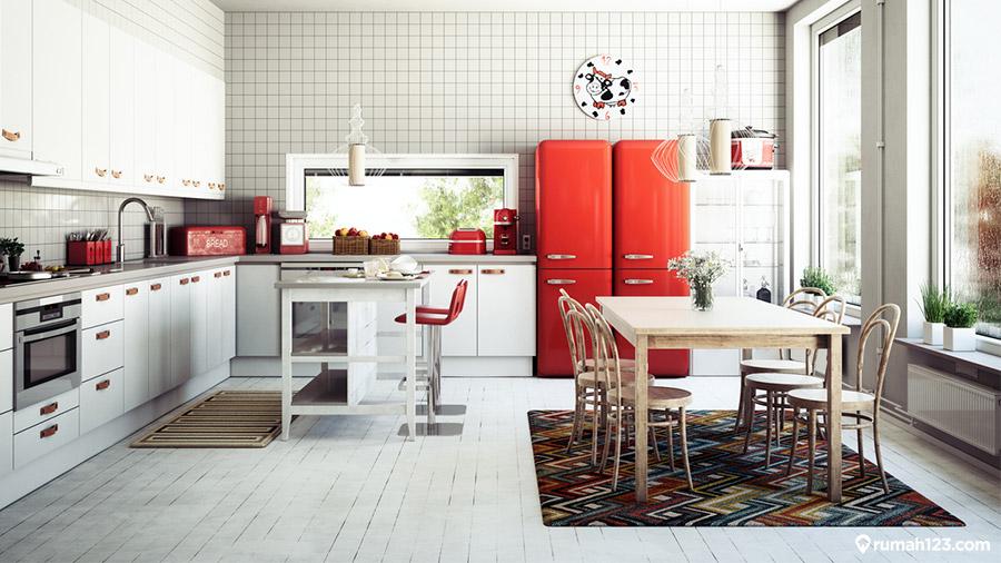 warna cat dapur menurut fengshui