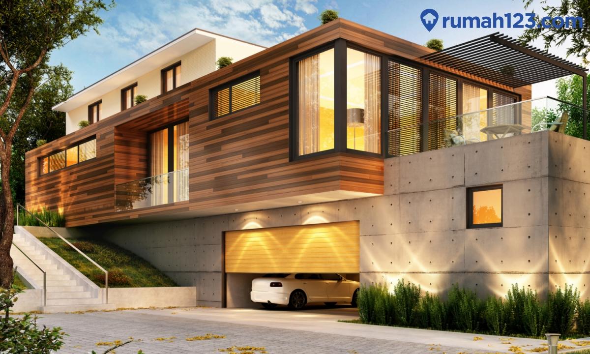 konsep fasad rumah