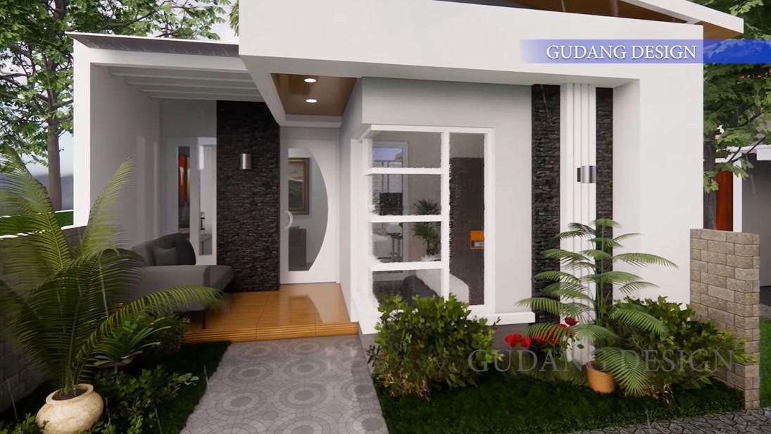 Terletak Di Perkampungan Desain Rumah Type 60 Ini Mewah Banget Rumah123 Com