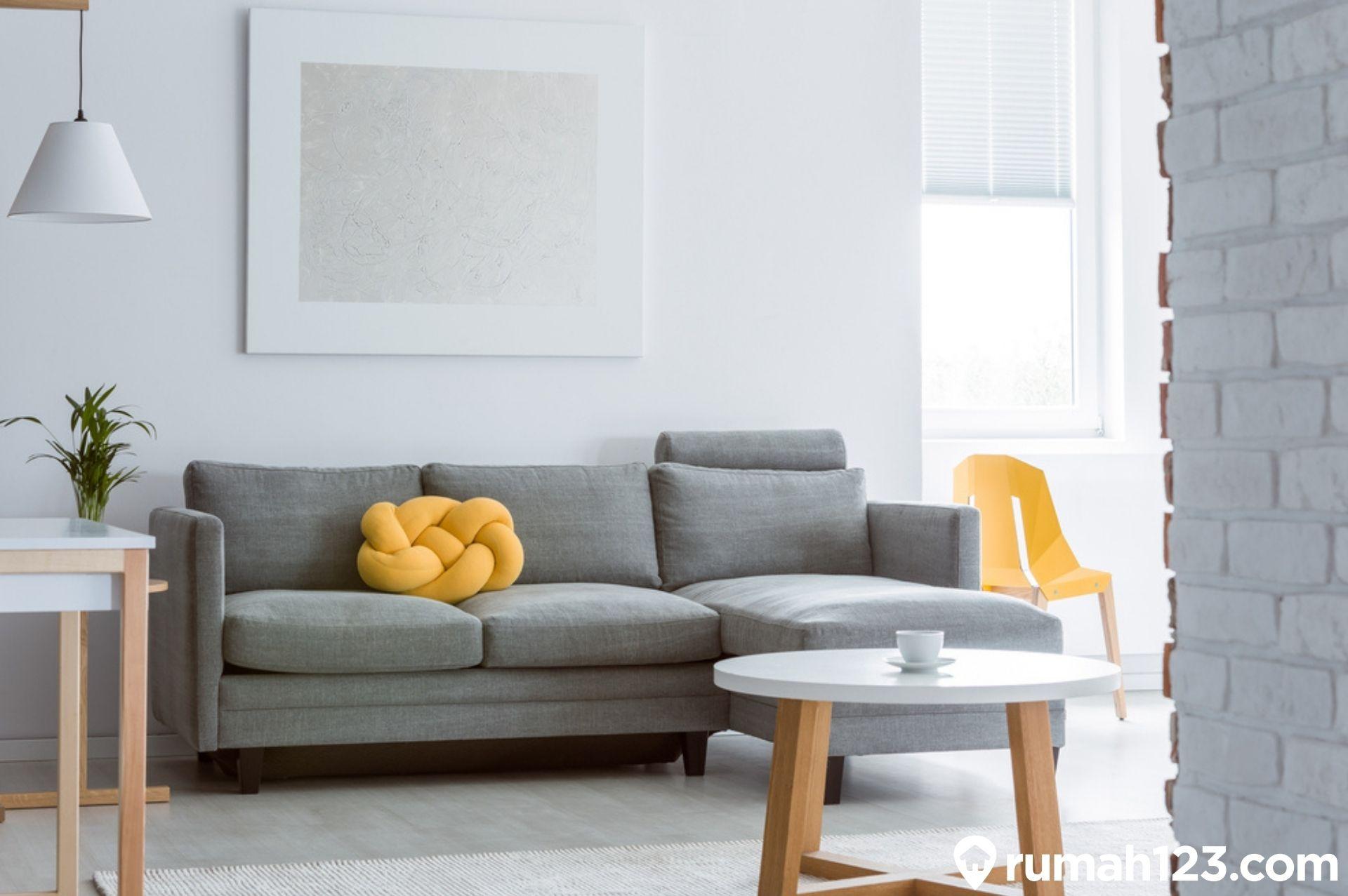 11 Meja Ruang Tamu Minimalis Estetis Dan Anti Makan Tempat Rumah123 Com