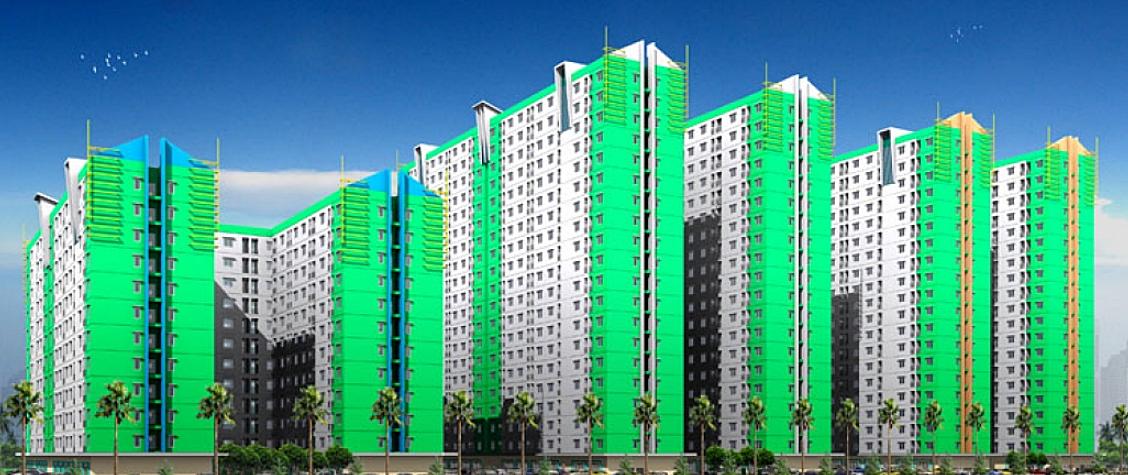apartemen green park view