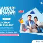 Mau Cuan dari Rumah? Ikut Jual Properti dari Mandiri Festival Properti Indonesia Online 2020 Aja!
