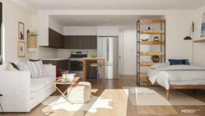 Inspirasi Denah Apartemen Tipe Studio Biar Terasa Lebih Luas