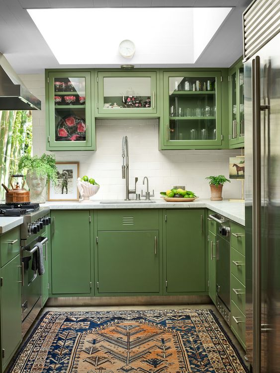 kombinasi warna hijau