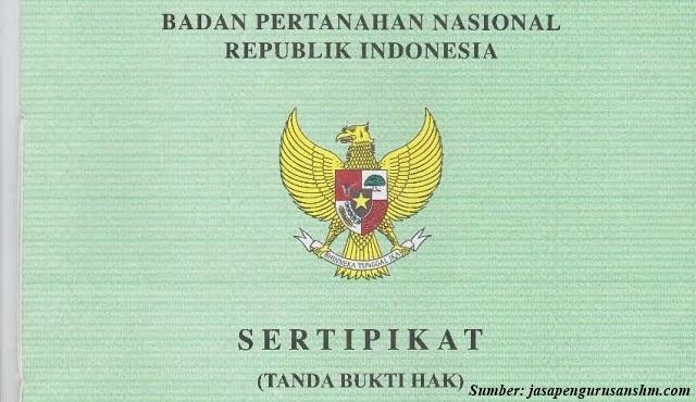 sertifikat hak milik shm