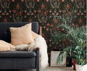 12 Desain Wallpaper Dinding Ruang Tamu yang Keren Banget, Mau Pasang Yang Mana Nih?
