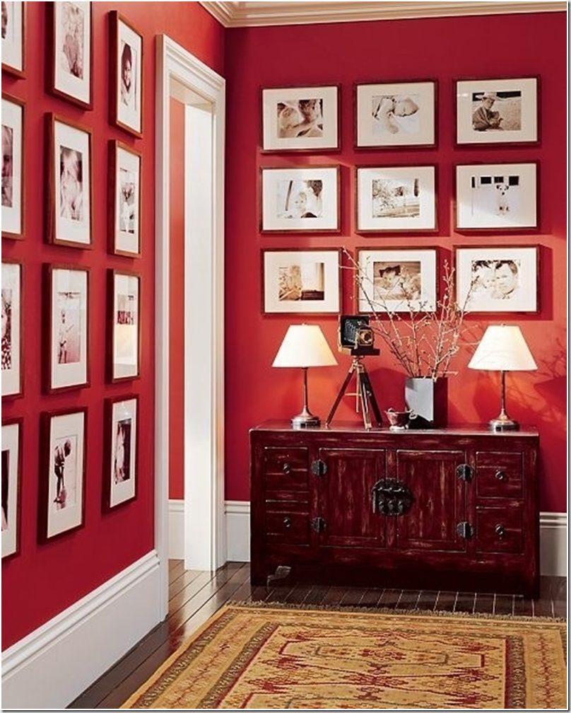 kombinasi warna merah