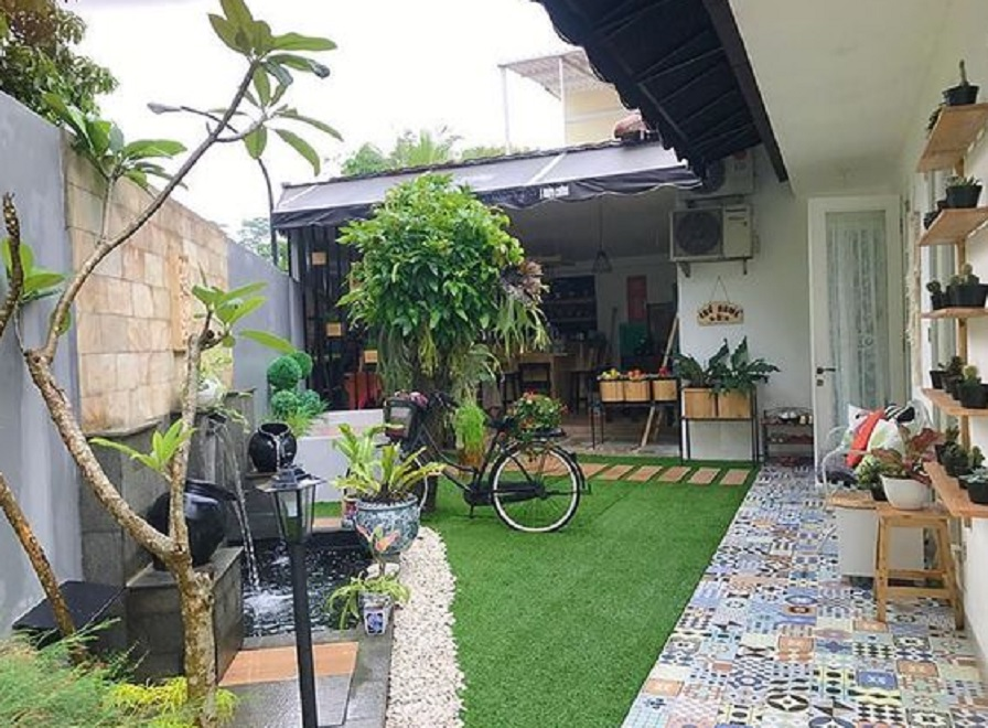 16 Desain Taman Minimalis Belakang Rumah, Banyak Pilihan Mempercantik Taman | Rumah123.com