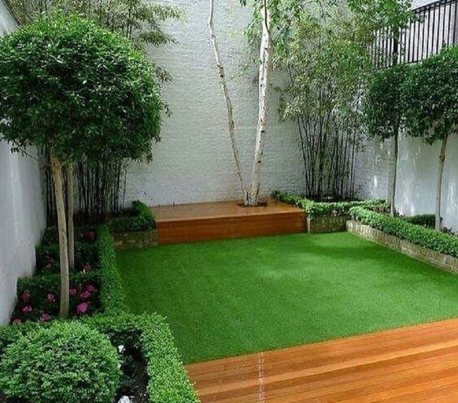 16 Desain Taman Minimalis Belakang Rumah Banyak Pilihan Mempercantik Taman Rumah123 Com