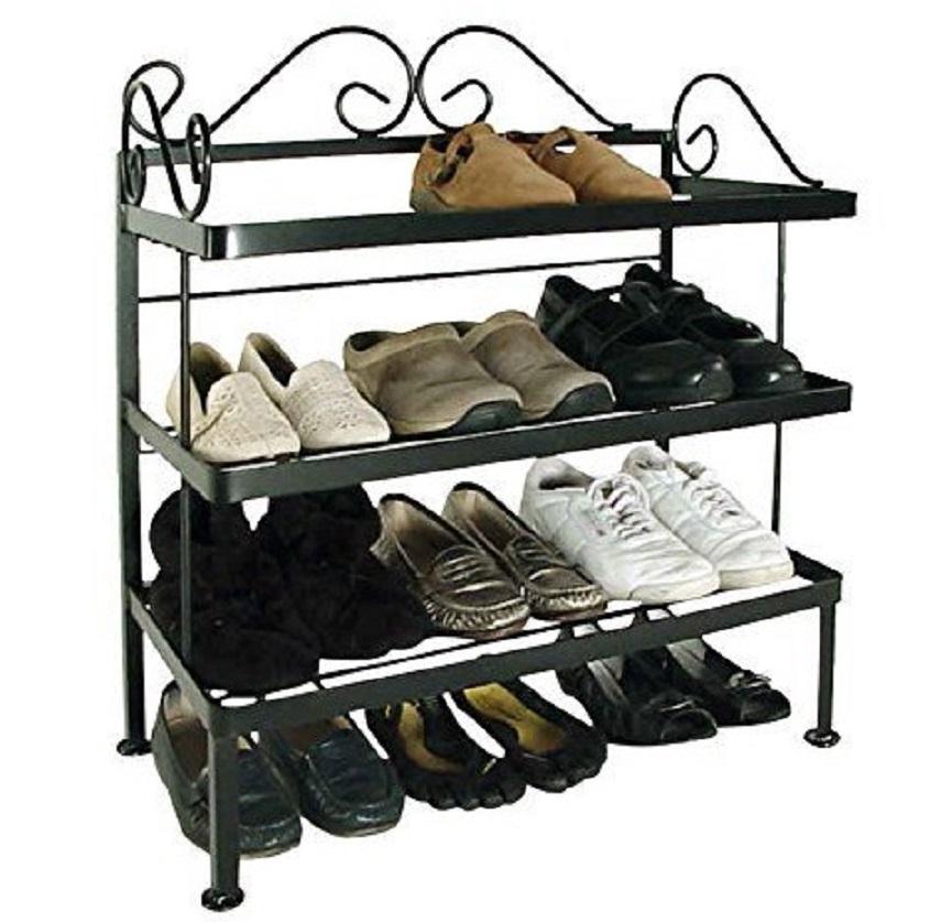 11 Desain Rak Sepatu yang Keren, Biar Sandal dan Sepatu ...