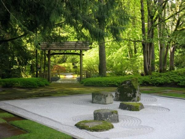 zen garden di rumah