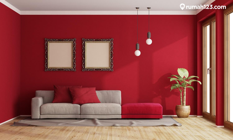 cat rumah merah ati