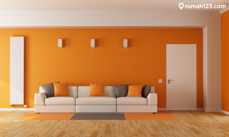 cat rumah oranye