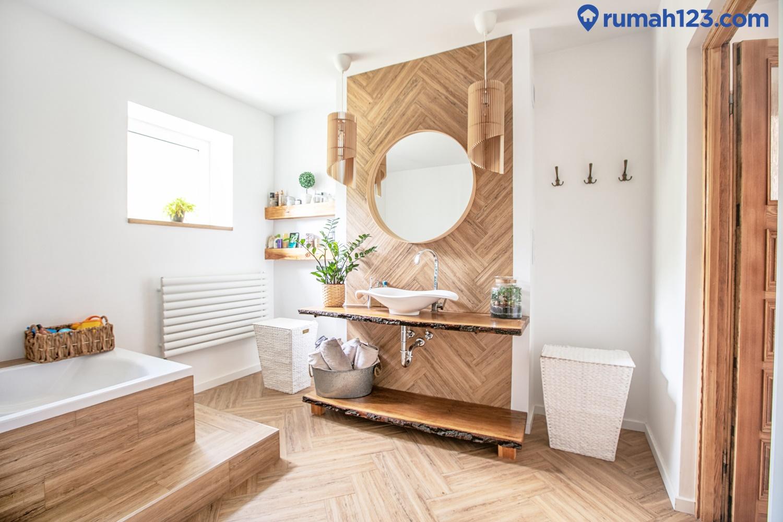 kamar mandi kayu