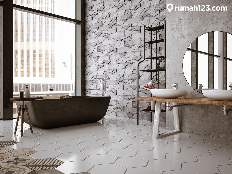kamar mandi hexagonal