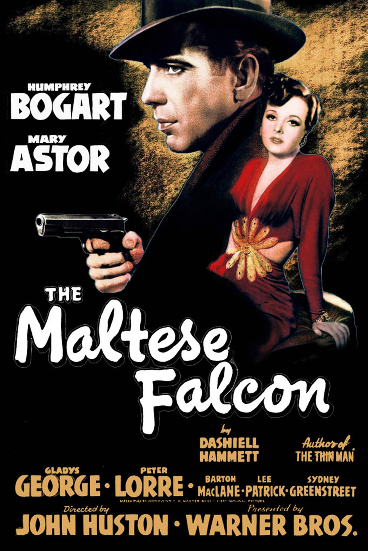The Maltese Falcon_Film Detektif Terbaik