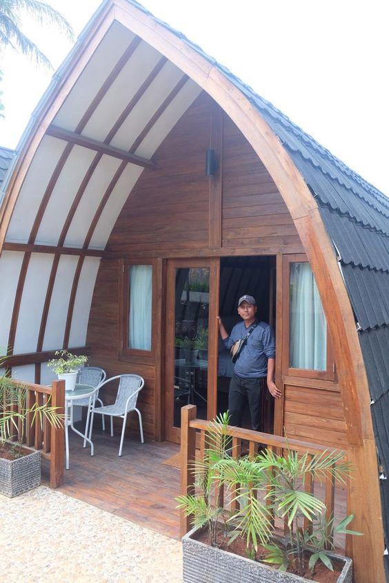 9 Desain Rumah Kayu Minimalis, Klasik Dan Mewah! | Rumah123.com