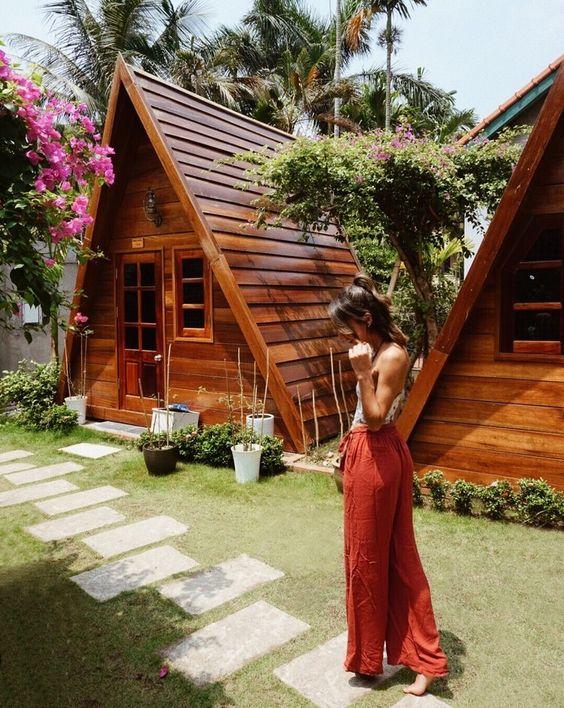9 Desain Rumah Kayu Minimalis Klasik Dan Mewah Rumah123 Com