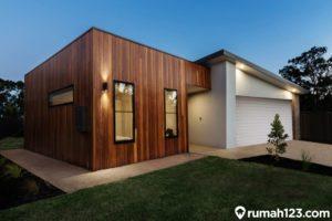 9 Desain Rumah Kayu Minimalis, Klasik dan Mewah!