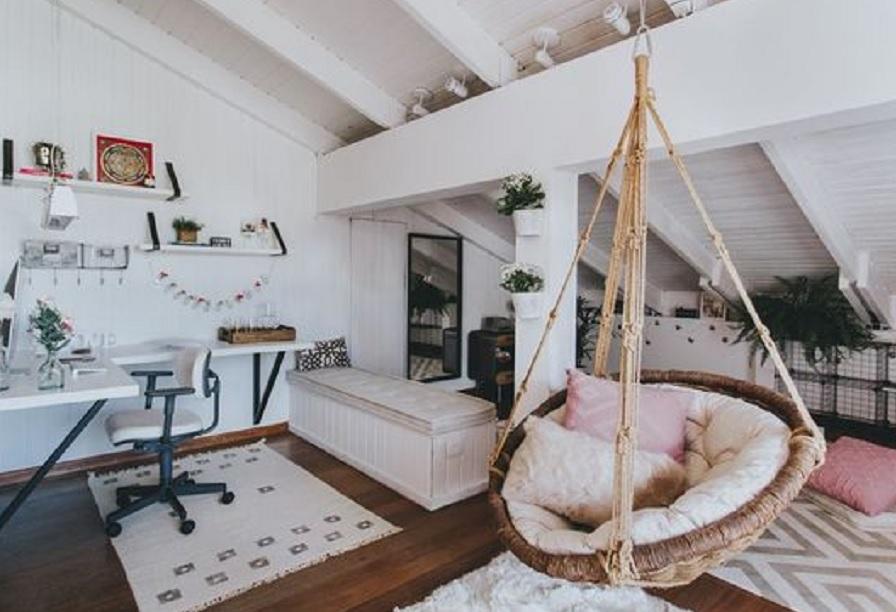 15 Inspirasi Kamar Loteng Ternyata Bisa Jadi Ruang Tidur Tambahan Juga Rumah123 Com