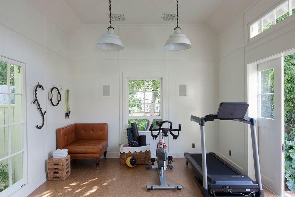 ruang olahraga di rumah