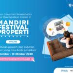Ini Cara Mengecek Komisi Agen dari Mandiri Festival Properti Indonesia Online 2020