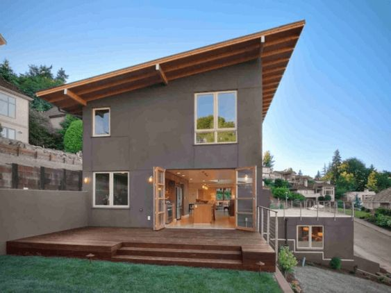 10 Contoh Rumah Atap Miring Minimalis Yang Lagi Hits Saat Ini Rumah123 Com