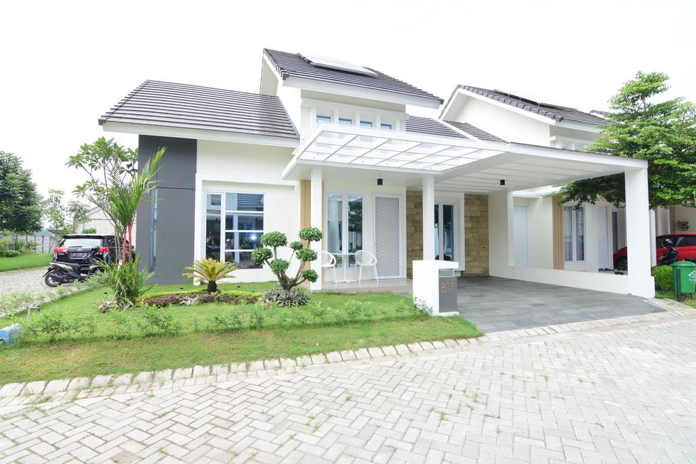 10 Contoh Rumah Atap Miring Minimalis Yang Lagi Hits Saat Ini | Rumah123.com