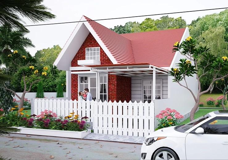 rumah gaya eropa